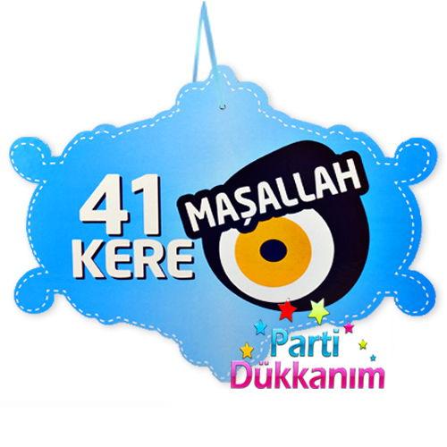41 Kere Maşallah Asma Süs