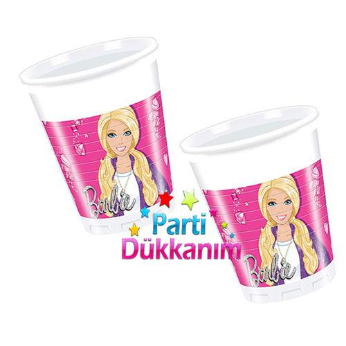 Barbie Bardak (8 adet)