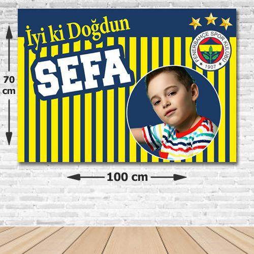 Fenerbahçe Doğum Günü Parti Afişi 70*100 cm, fiyatı