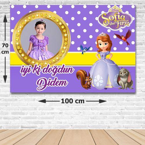 Prenses Sofia Kişiye Özel Parti Afişi 70*100 cm, fiyatı