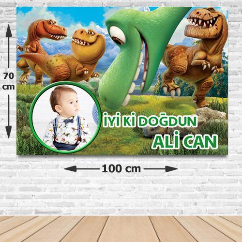 Dinozor Doğum Günü Parti Afişi 70*100 cm, fiyatı
