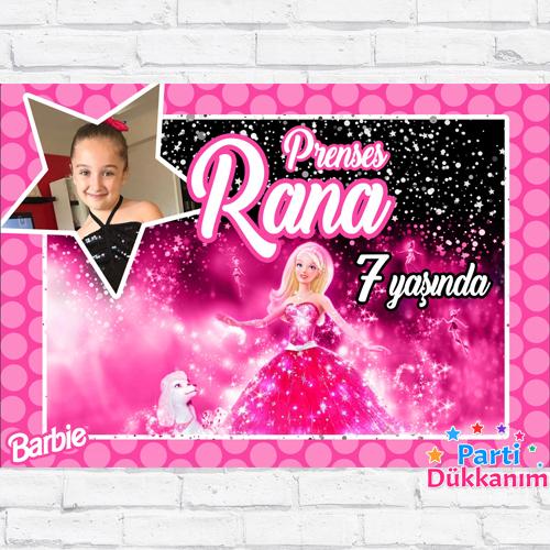 Barbie Doğum Günü Parti Afişi 70*100 cm
