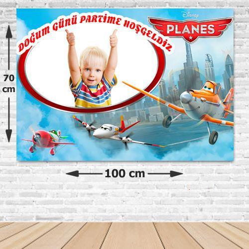Disney Planes Parti Afişi 70*100 cm