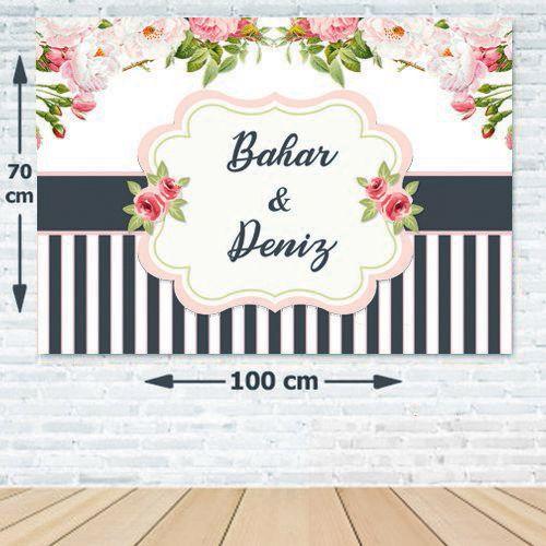 Düğün Nişan Söz Kişiye Özel Afiş 70*100 cm, fiyatı