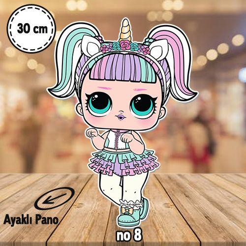 Lol Bebekler Ayaklı Pano 30 cm 1 adet, fiyatı