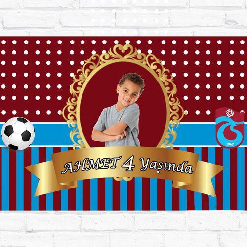 Trabzonspor Doğum Günü Parti Afiş 70*100 cm, fiyatı