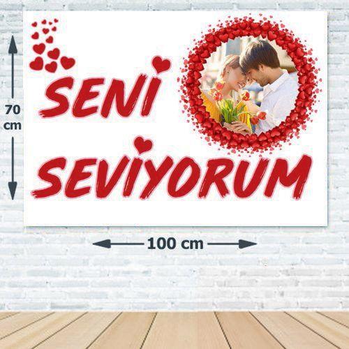 Seni Seviyorum Afişi 70*100 cm, fiyatı