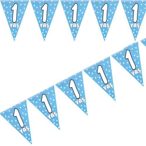 1 Yaş Flama Bayrak Mavi (2 m)