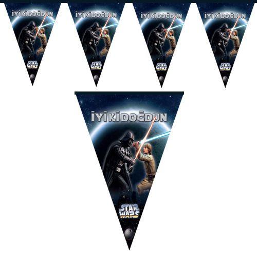 Star Wars Flama Bayrak Set (2 metre)