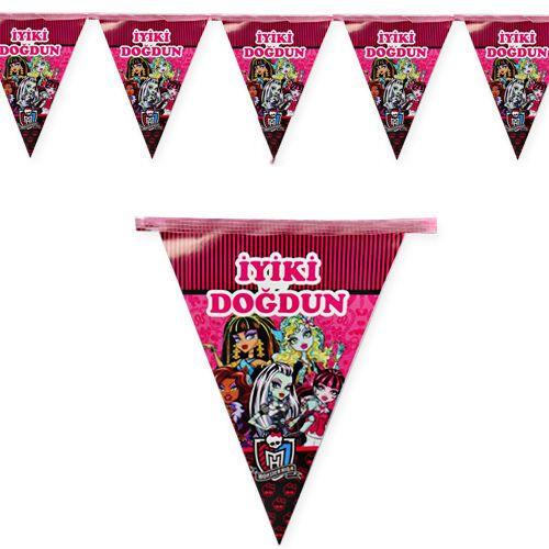 Monster High Bayrak Süs (2 m.)