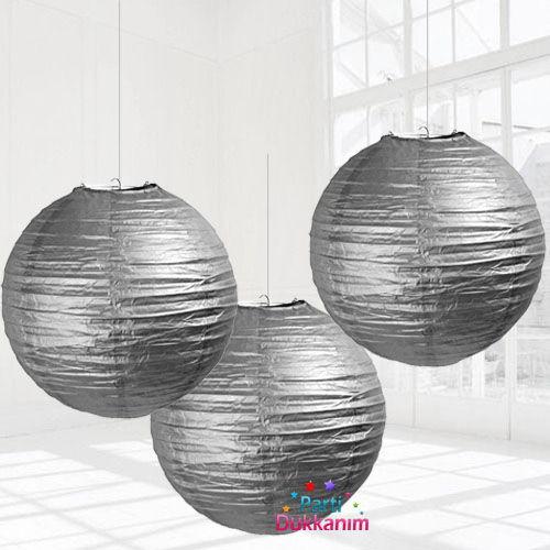 Gümüş Japon Feneri (30 cm), fiyatı