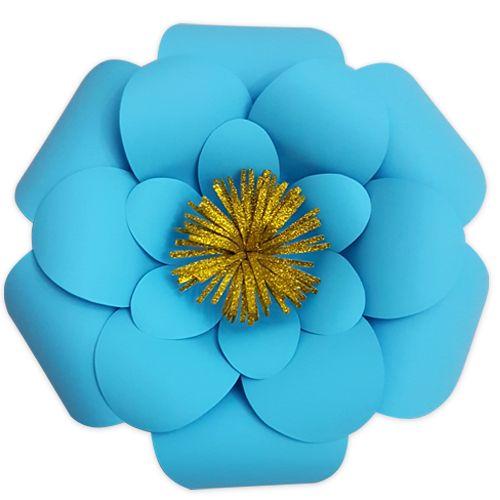 Mavi Kağıt Çiçek 1 Adet (30 cm), fiyatı