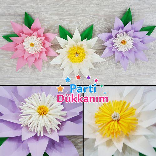 Nilüfer Karton Çiçek Seti, fiyatı