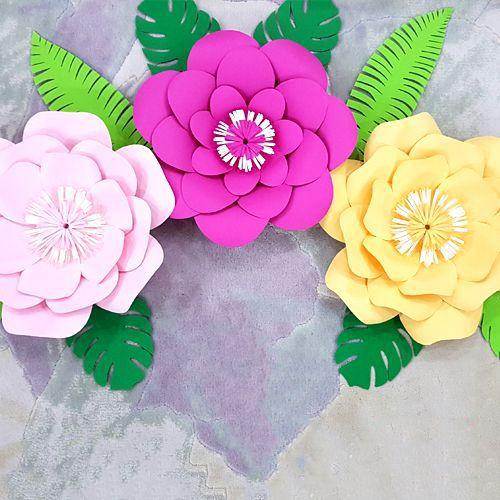 Flamingo Kağıt Çiçek Seti, fiyatı