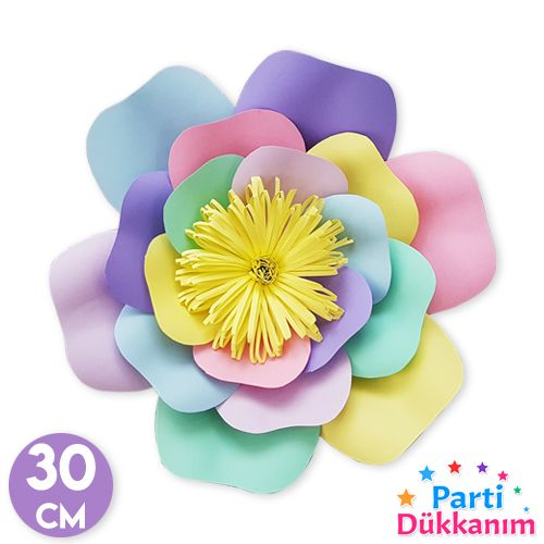 Rengarenk Unicorn Kağıt Çiçek Konsepti, fiyatı