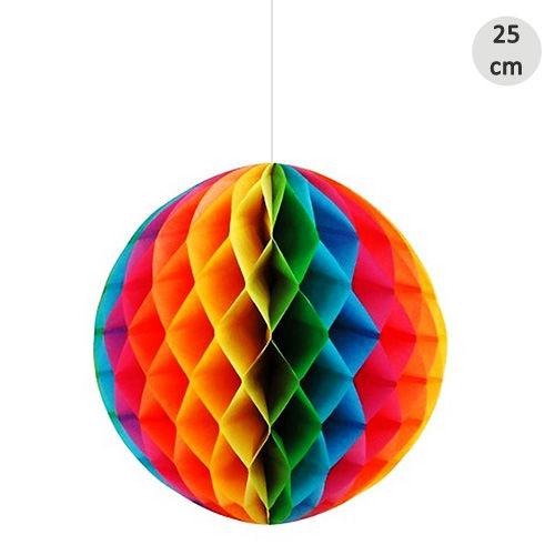 Renkli Petek Süs 25 cm