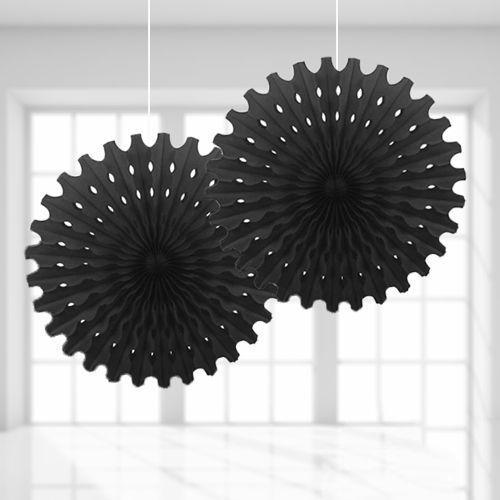 Siyah Yelpaze Süs (50 cm)