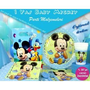 1 Yaş Mickey Mouse