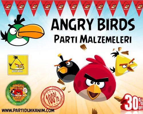 Angry Birds Parti Malzemeleri