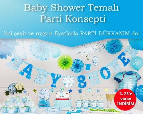 Baby Shower Erkek
