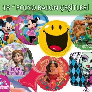 Folyo Balon 18 Inch