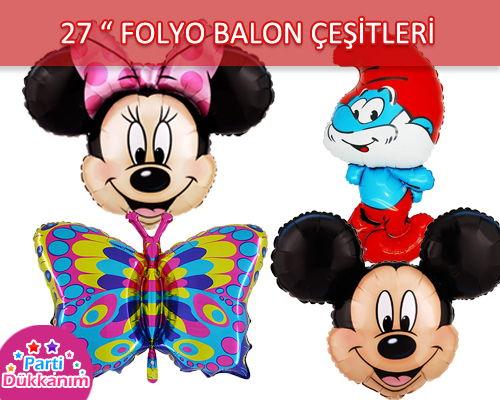 Folyo Balon 27 Inch