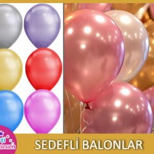 Sedefli Balonlar (Parlak)
