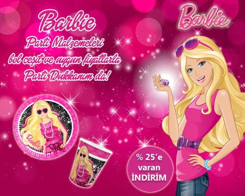Barbie Parti Malzemeleri