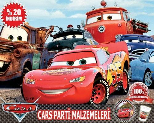 Cars Parti Malzemeleri