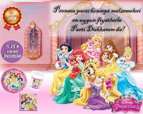 Prenses Parti Malzemeleri