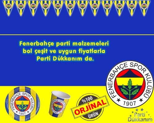 Fenerbahçe Parti Malzemeleri