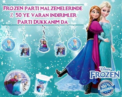 Frozen Parti Malzemeleri