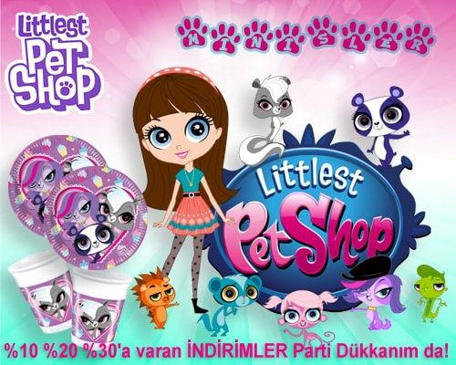Minişler Littlest Pet Shop Doğum Günü Parti Malzemeleri