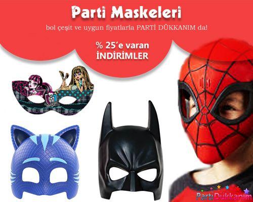 Parti Maskeleri Parti Maske çeşitleri Parti Maske Fiyatları