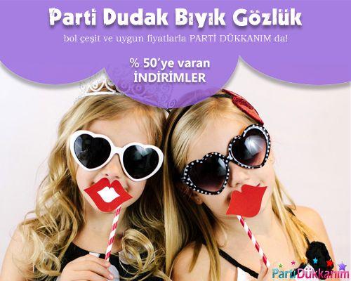 Parti Dudak/Bıyık/Gözlük
