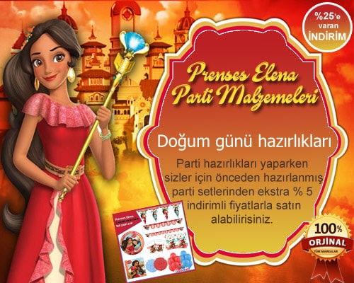 Prenses Elena Parti Malzemeleri