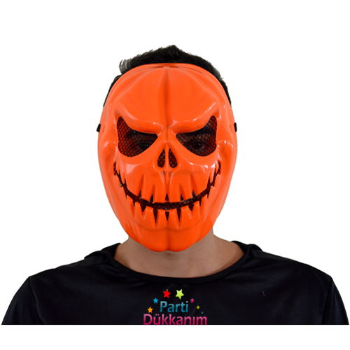 Balkabağı Plastik Maske