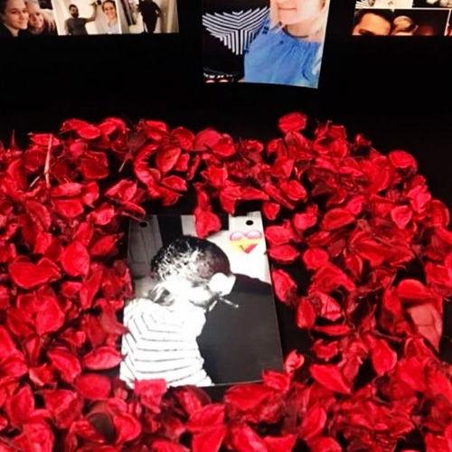 Kırmızı Kuru Kokulu Çiçekler