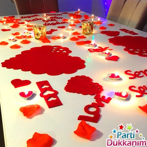 Romantik Ortam Hazırlama Seti
