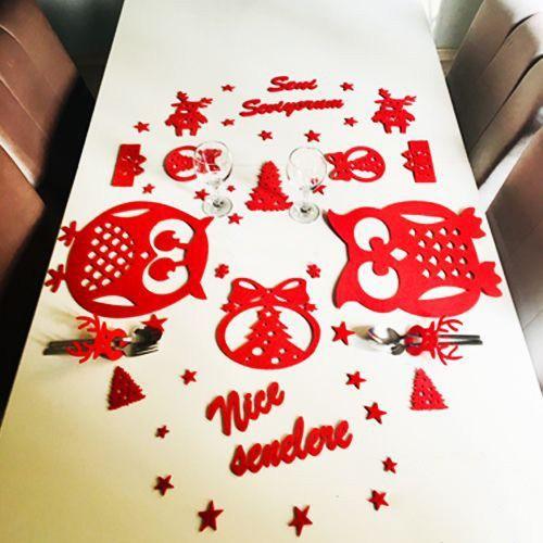 Sevgiliye Yılbaşı Sürpriz Romantik Masa Seti Baykuş, fiyatı