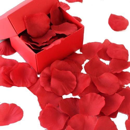 Kırmızı Gül Yaprakları Yapay (144 Adet)