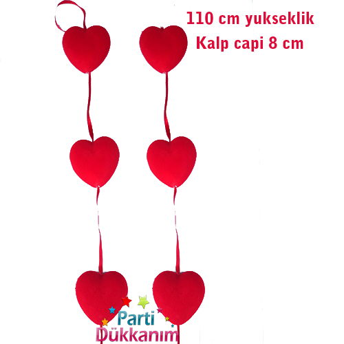 Kalpli Asma Süs Kadife (100 cm.)