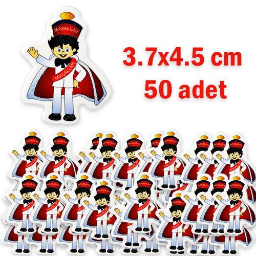 Sünnet Çocuğu Sticker (Yapışkansız) 50 Adet, fiyatı