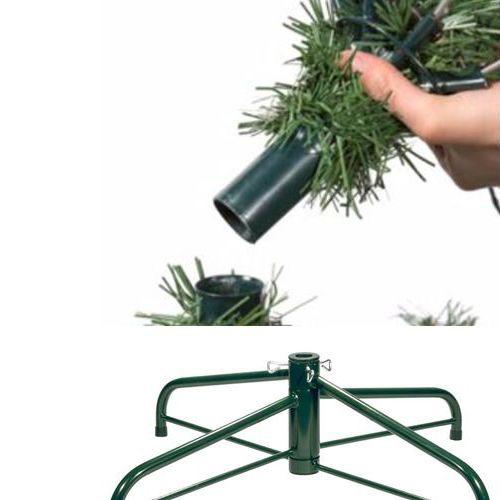 Yılbaşı Çam Ağacı 150 cm 180 Dallı Metal Ayaklı KUTULU, fiyatı