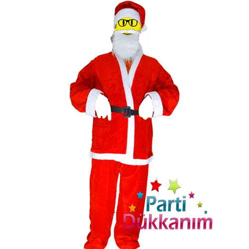 Noel Baba Kostümü Yetişkin (Standart)