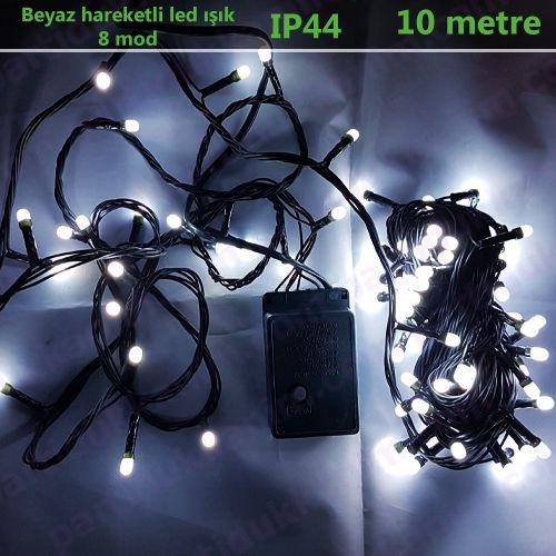 Beyaz Hareketli Led Işık (10 metre)
