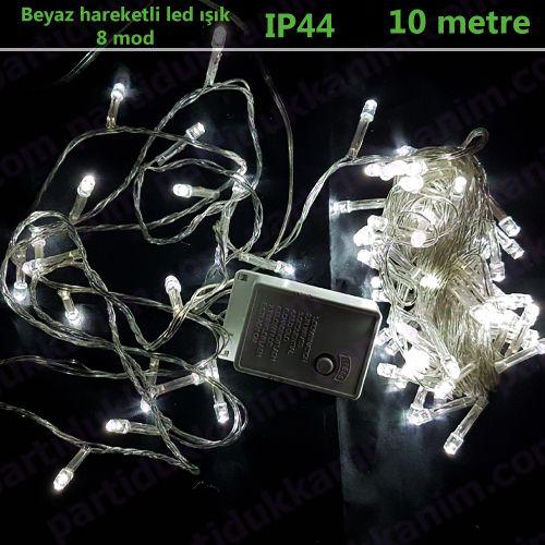 Beyaz Hareketli Led Işık (10 metre), fiyatı