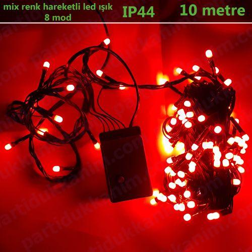 Kırmızı Hareketli Led Işık (10 metre), fiyatı