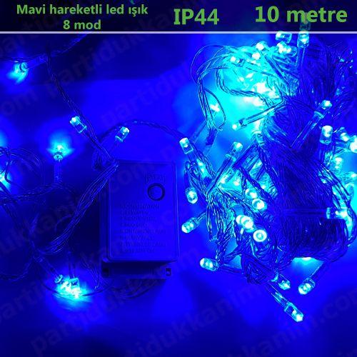 Mavi Hareketli Led Işık (10 metre), fiyatı