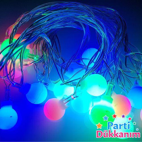 Karışık Renk Hareketli Top Led Işık (3 metre), fiyatı